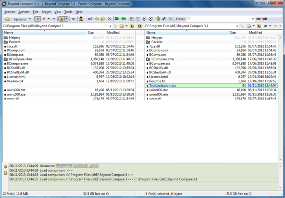 Compare Folders Side-by-Side