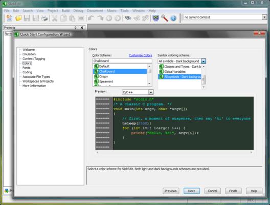 SlickEdit for Mac OS X (英語版) のスクリーンショット