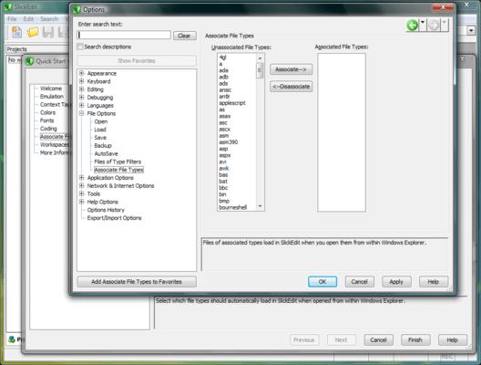 Associate File Types
