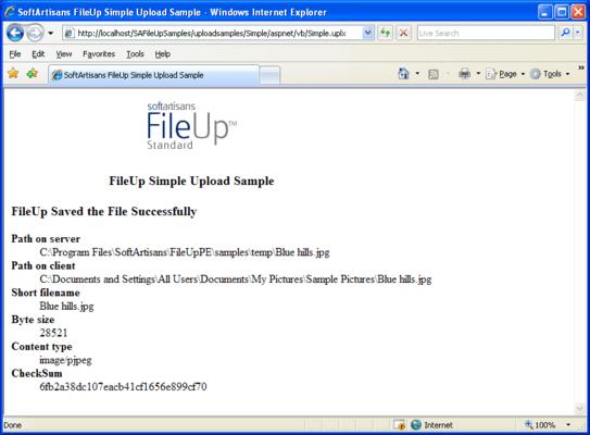 SoftArtisans FileUp