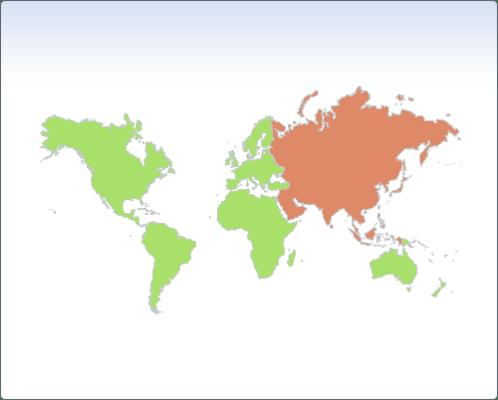 Chart FX 8 - Maps