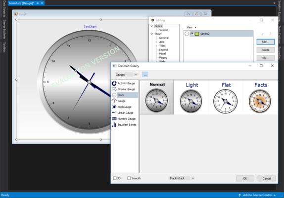 TeeChart Pro ActiveX - IClockGaugeSeries