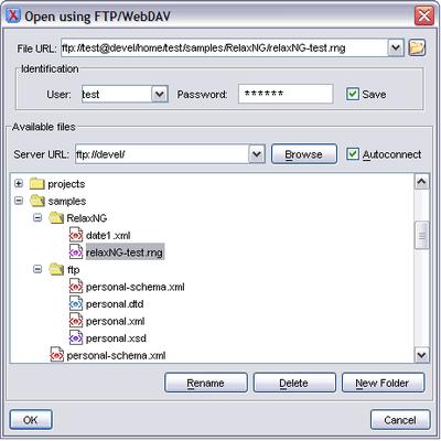 FTP & WebDAV Support