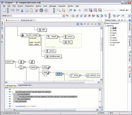 Oxygen XML Editor Enterprise Screenshots