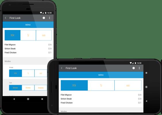 Telerik UI for Xamarin - Segmented Control