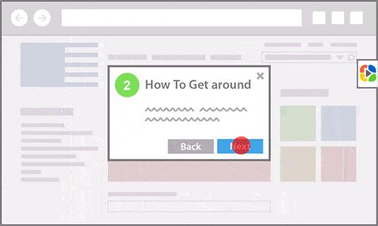 Simple Walkthroughs Guide Users