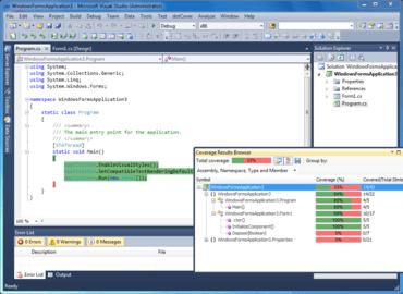 dotCover adds Remote Code Coverage