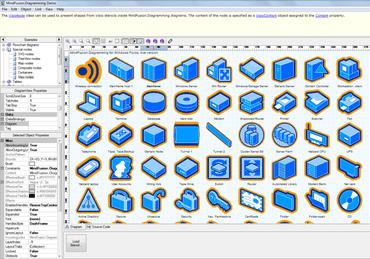 flowchart net adds support for visio stencils