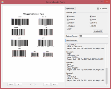 Barcode Reader V2.1 released