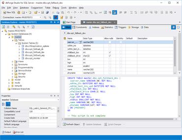 dbForge Studio for SQL Server V5.0.337 released