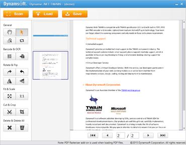 Dynamic .NET TWAIN 6.0 released