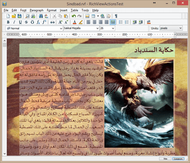 TRichView 16 Improves Text Formatting.