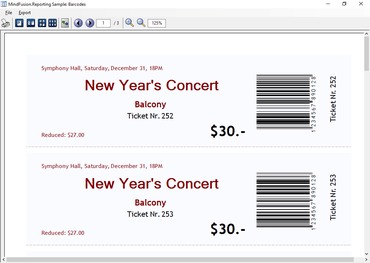 MindFusion Pack for Windows Forms improves Barcode Support