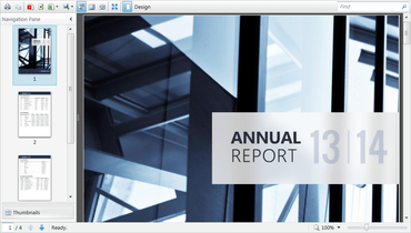 WebUI Studio for Silverlight and WPF 2016 improves Reporting