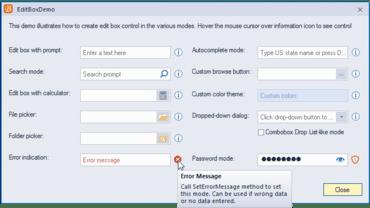 BCGSuite for MFC v24.4 Improves Dialog Tips