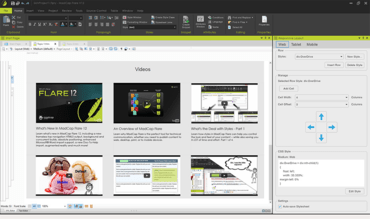 MadCap Flare 12 adds Responsive Layout Editor