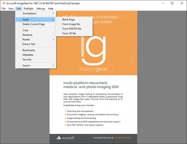 ImageGear .NET v22.0 Improves Usability