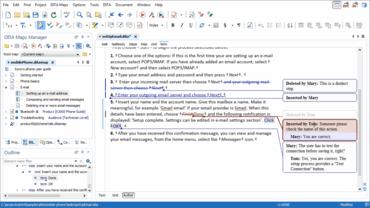 oXygen XML Author Improves Collaboration