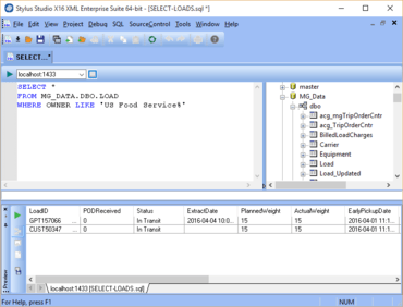 Stylus Studio XML X16 released