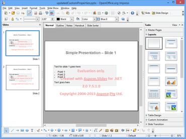 Aspose.Slides for .NET V16.5.0