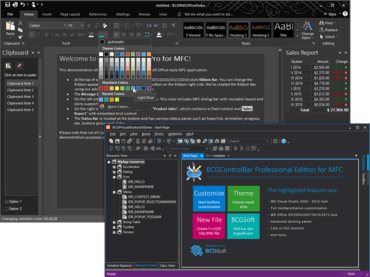 BCGControlBar Library Professional Edition MFC v25.0