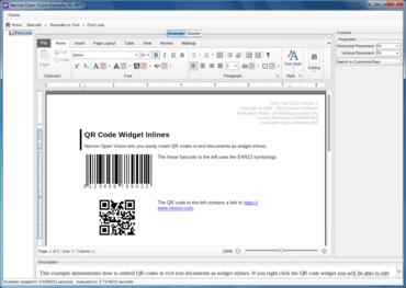 NOV Barcode for .NET 2016.2
