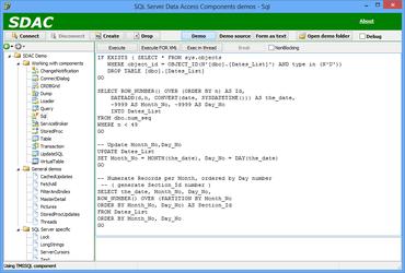 SQL Server Data Access Components (SDAC) 7.3.13