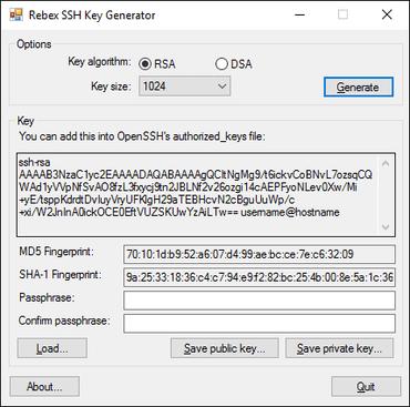 Rebex SSH Pack 2016 R2