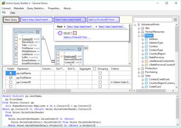 Active Query Builder for .NET All-in-one v3.1