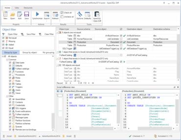 ApexSQL Diff 2016.02