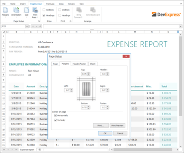 DevExpress WinForms 16.1.5