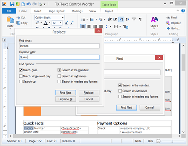TX Text Control .NET for WPF X13 SP1