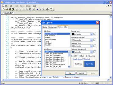Codejock Syntax Edit Visual C++ MFC v17.3
