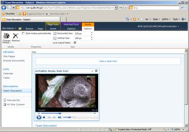 Video Column & Web Part V2.2