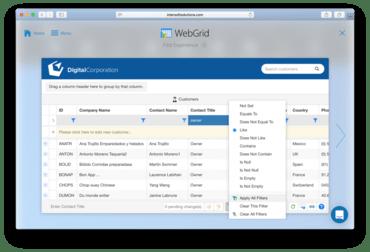 WebUI Studio for ASP.NET 2017