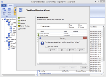 HarePoint Content and Workflow Migrator v3.0