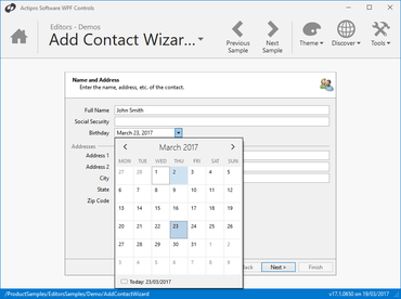 Actipro Editors for WPF 2017.2