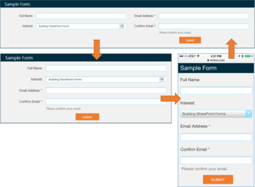 Kintivo Forms for SharePoint v5.6.7