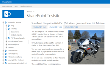 SharePoint Navigation Tools v1.4