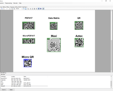 LEADTOOLS Barcode Pro V20