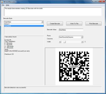 Barcode Xpress Professional .NET v12.1