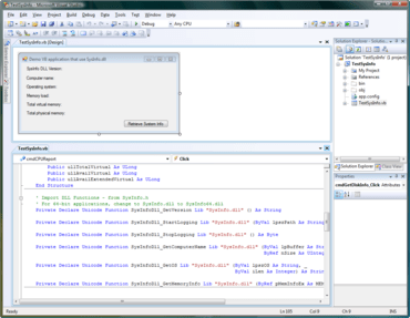 SysInfo DLL SDK v1.0 (Build 1130)