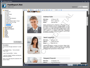 FastReport.Net WinForms + WebForms 2018.2