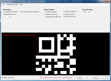 GdPicture.NET QR-Code Reader And Generator Plugin v14.0.43