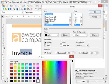 TX Text Control ActiveX Server X15 SP1