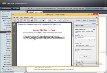 Aspose.PDF for Java V18.4