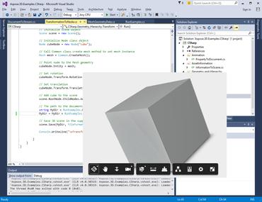 Aspose.3D for .NET V18.5