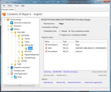 Application Virtualization Explorer v5.7.0