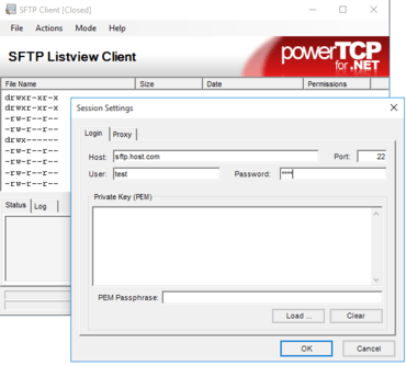 PowerTCP SSH and SFTP for .NET 4.10.1.4
