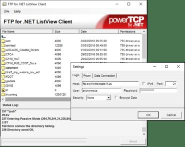 PowerTCP FTP for .NET V4.7.6.1